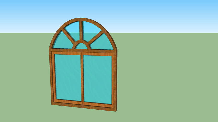 Arched Window (Curve Top)