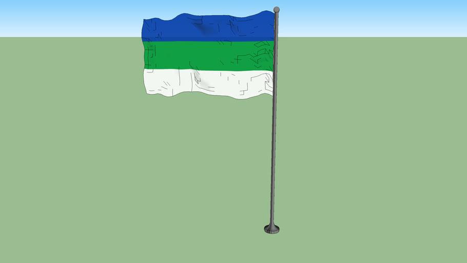 Flag of Komi