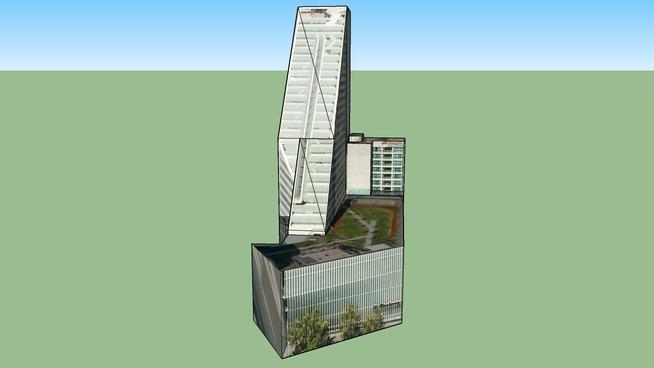 Edificio Reforma 222 in Mexiko, D.f., Mexiko