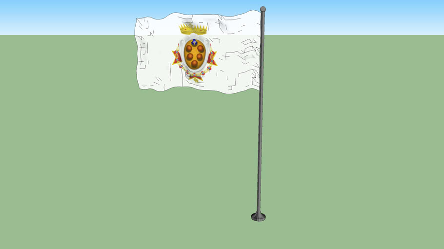 Flag of the Grand Duchy of Tuscany