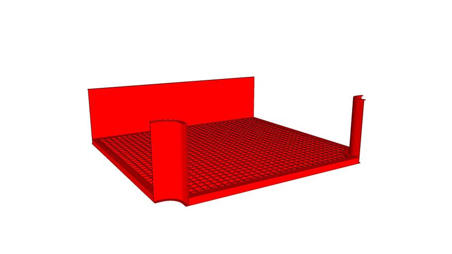 Derivação T Easyflex Multiway 300mm x 100mm