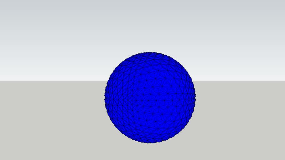 F12 Octahedral Geodesic Sphere