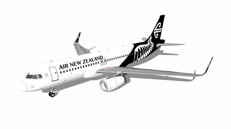 Air New Zealand Airbus A320-232(WL)