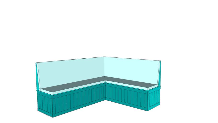 Kitchen corner seat