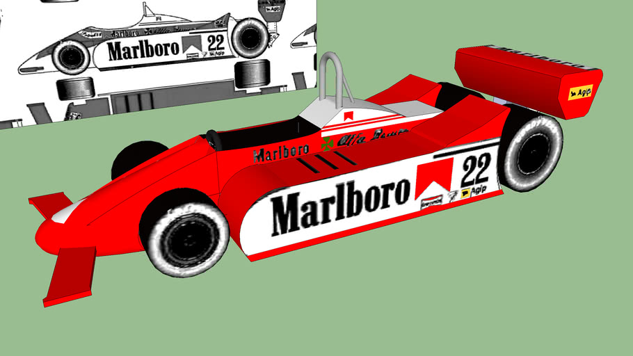 Alfa Romeo Tipo 179 F1 1980