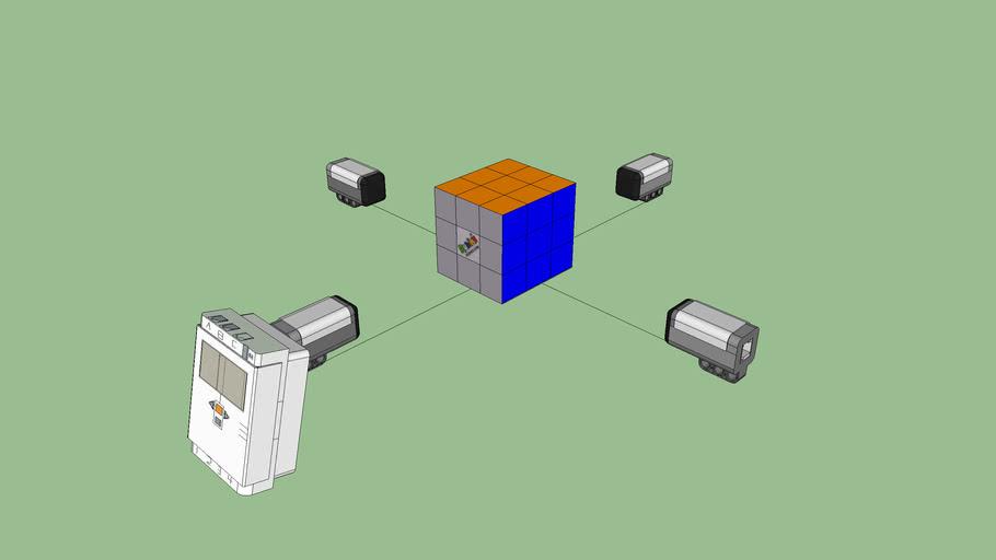 Rubix's Cube Solver Robot (In porgress)