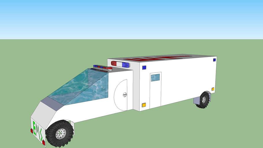 Racing ambulance