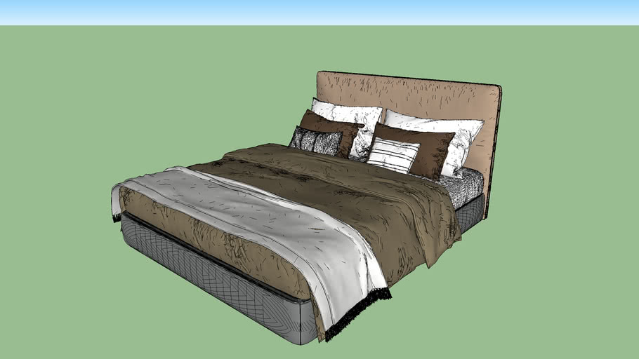 Double Size Bed / Cama Matrimonial
