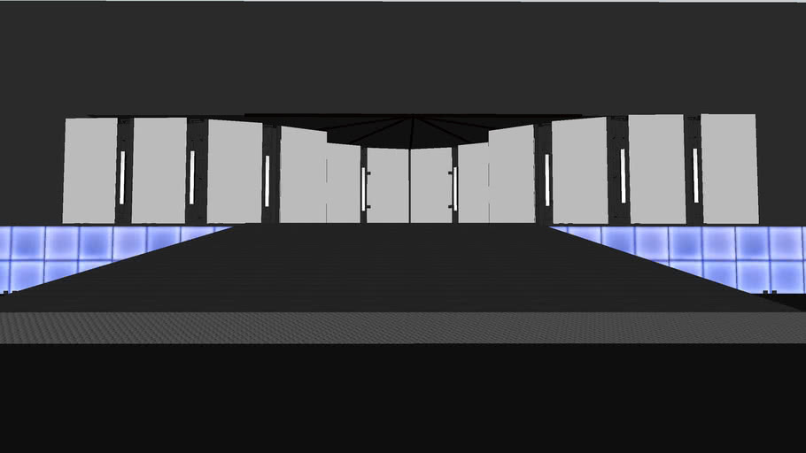 WWE Breaking Point 09 Stage Base and Minitron
