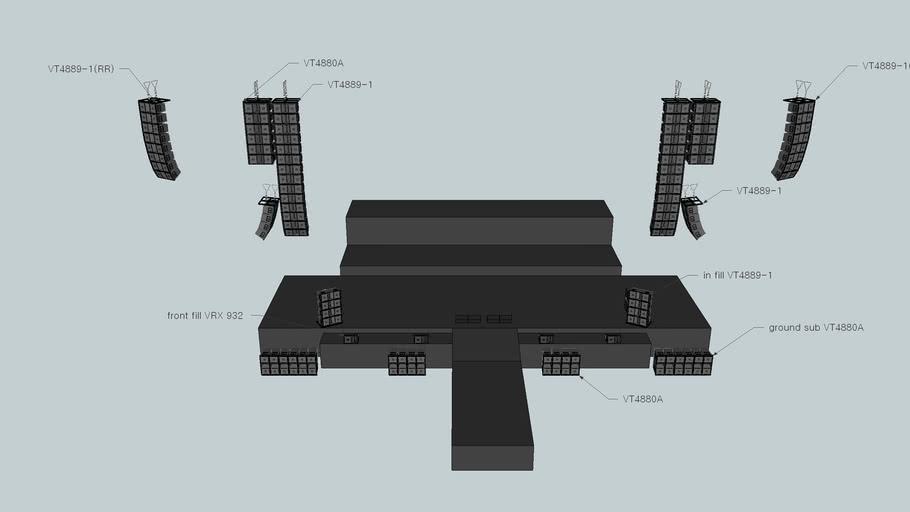 JBL VT4889-1 Linearray