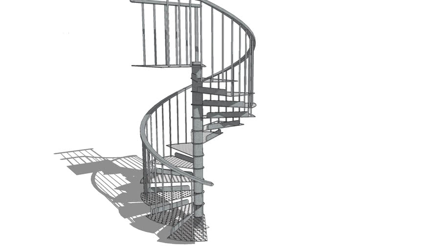 Spiral Staircase Metal