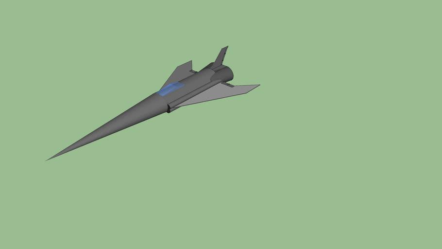 Avion de Chasse Model Coleopterous projet n°1