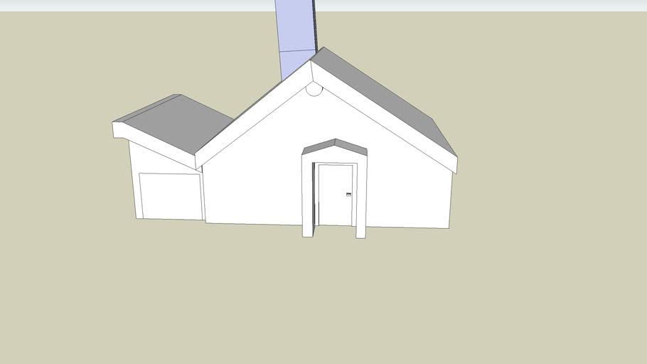 normal editable house