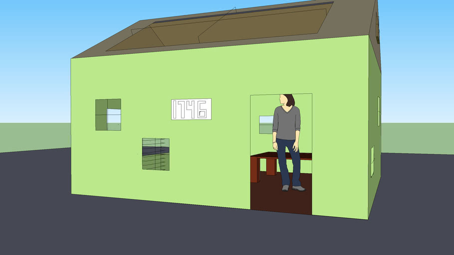 small block house