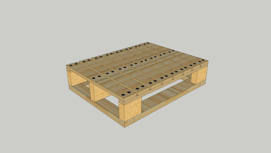 New wooden pallet for Forklift Truck 1200mm*1000mm (L*W)