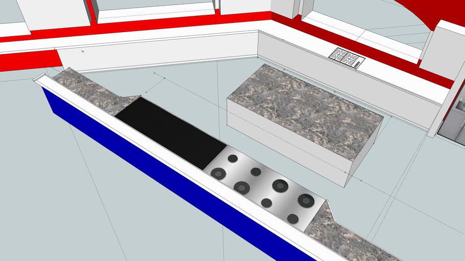 Kitchen in under construction