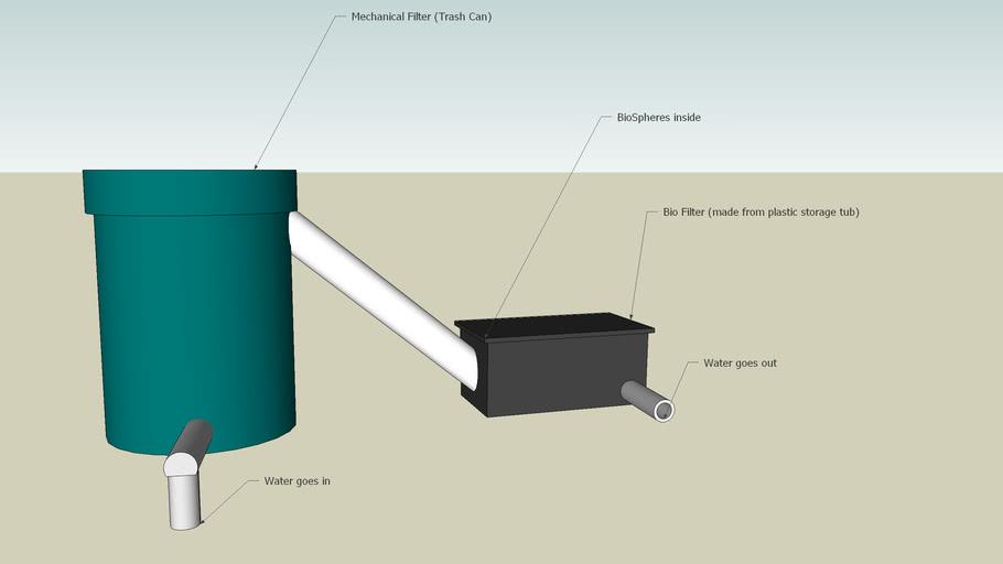 Homemade Pond Filter | 3D Warehouse