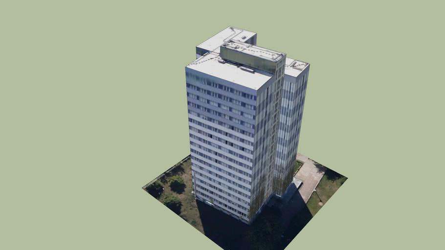 Hochhaus Komarowstr 1 in Leipzig