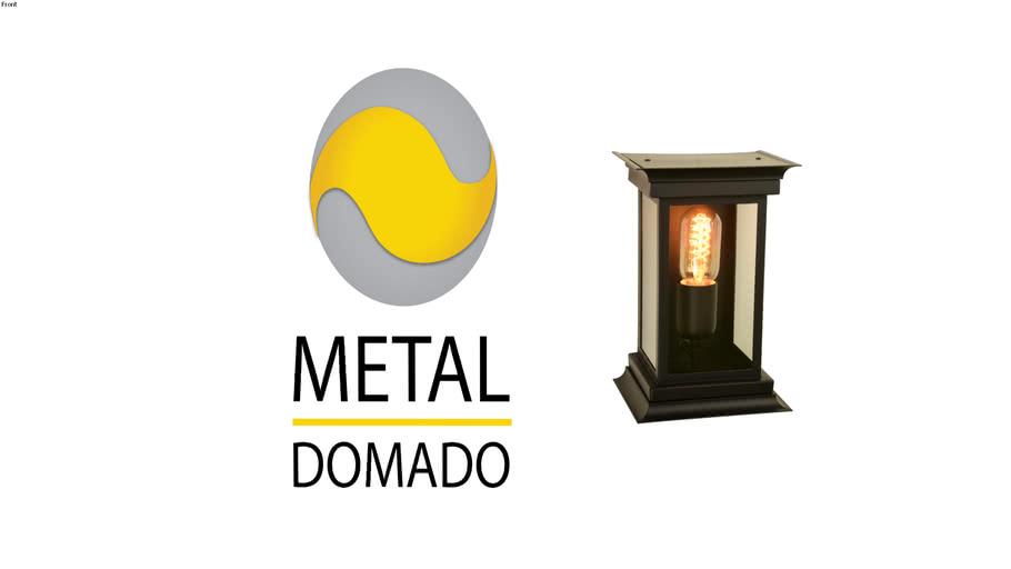ARANDELA COLONIAL QUADRADA P CLASS 5642 - METAL DOMADO ILUMINAÇÃO