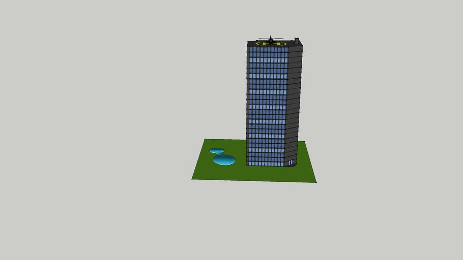 City Skyscraper w/ Pool