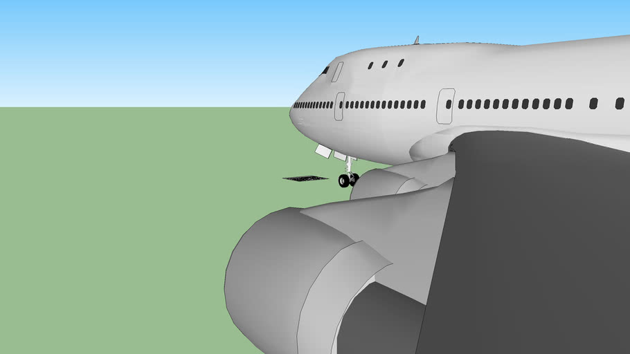 Boeing 747-100 / Early 747-200b / PW engines