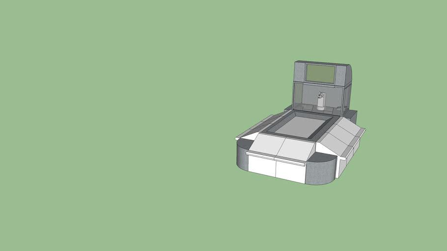 Robotic Baccarat Machine