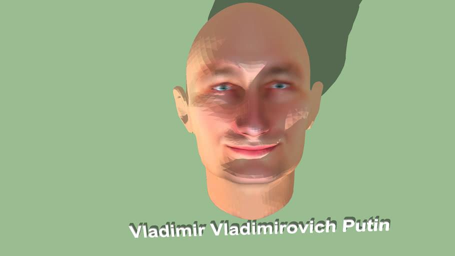 Vladimir Putin--فلاديمير بوتين (7 أكتوبر 1952 -)،