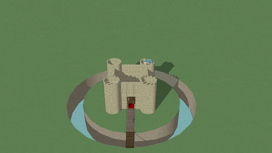 Half-finished castle