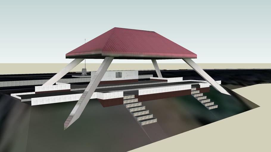 UP DILIMAN PROJECT - Academic Oval Segment, Sunken Garden, University Grandstand