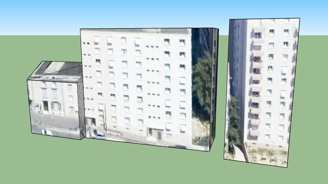 Bâtiment situé Marseille, France