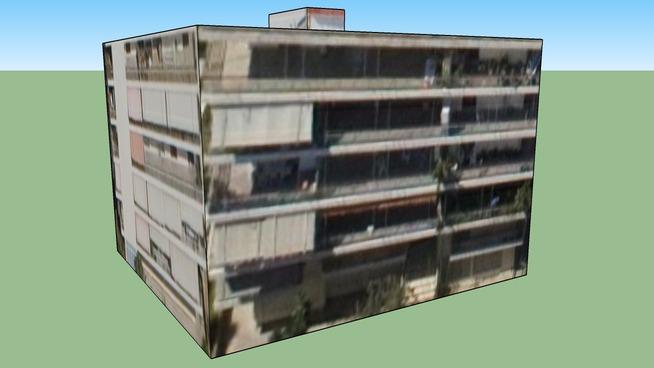 Building in Egaleo, Greece