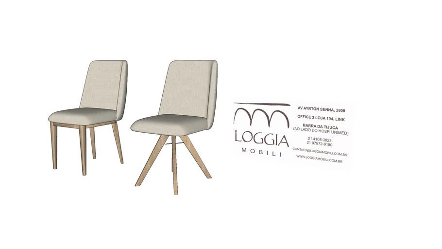Cadeira Agnes Lisa TM Loggia Mobili