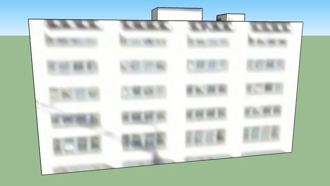 温哥华, 英属哥伦比亚, 加拿大的建筑模型