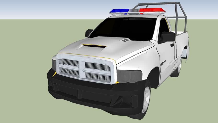 dodge ram modelo 2004 patrulla de policia