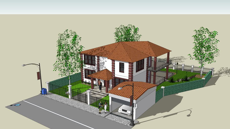 My first project,[Big hous with large yard and pool]_ by Shomi and AleX