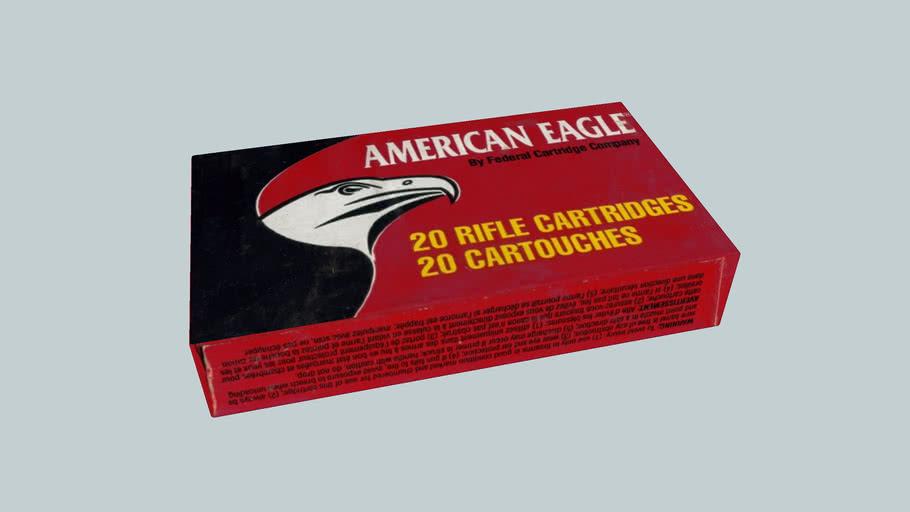 American Eagle ,223 Remington ammo box