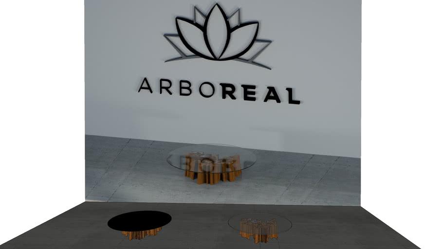 ArboREAL - Mesa de Centro Guarantã e Vidro
