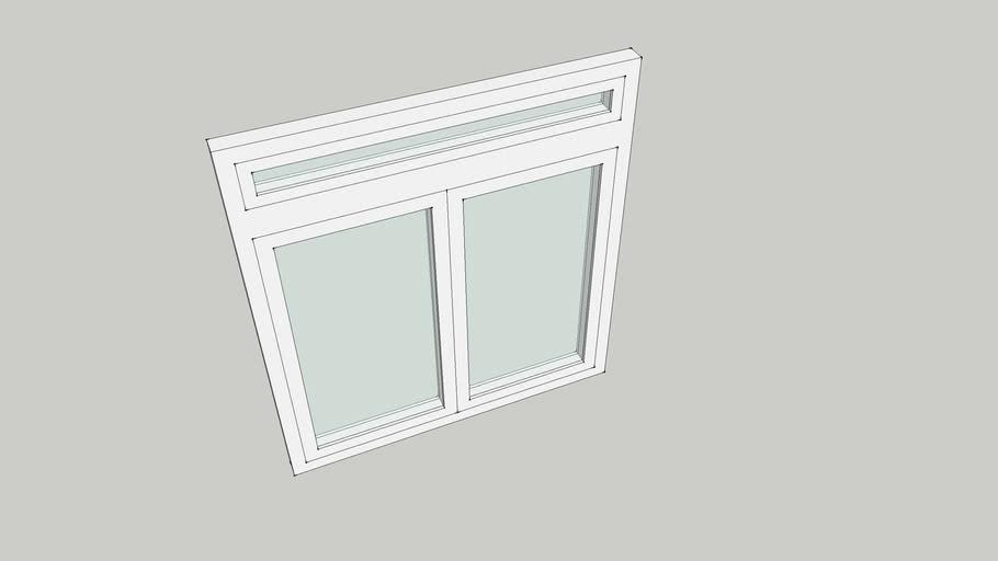 Fenêtre 2 ventaux + Vasistas Dynamique