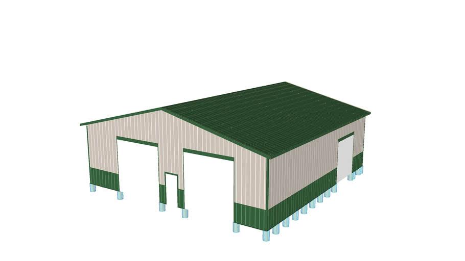 48x50 Pole Barn Design - K.Dehoff
