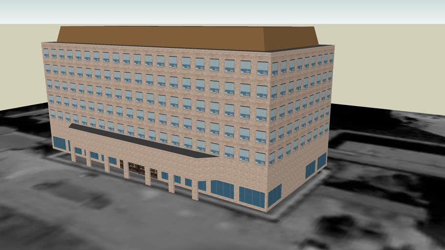 Terrasse De La Chaudiere édifice Central 3d Warehouse