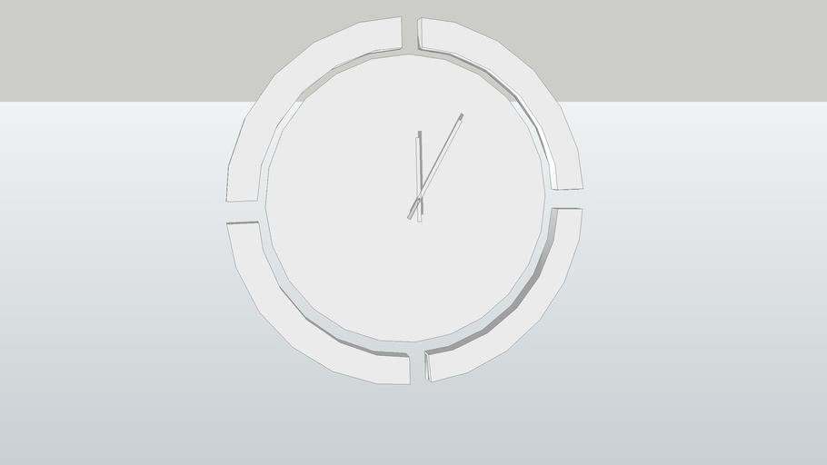 ALIVAR : AB NORMAL wall clock