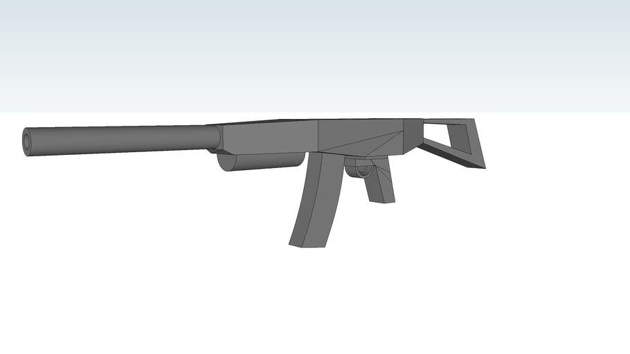 HKR-1 rifle 7.62x54Rmm