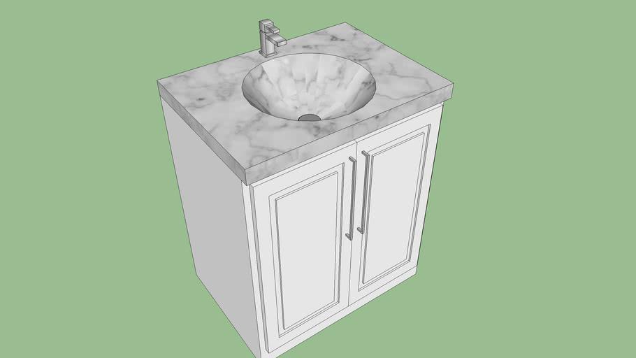 Bathroom Vanity 3d Warehouse