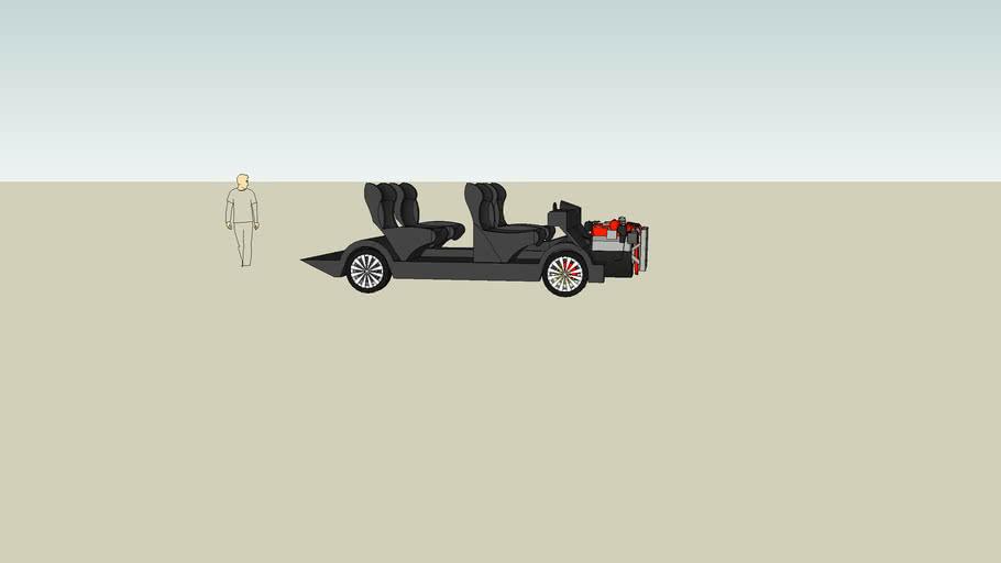 Auto met doorzichtig mannetje, Car with a clear guy, Eine Auto mit ein dorzichtige man