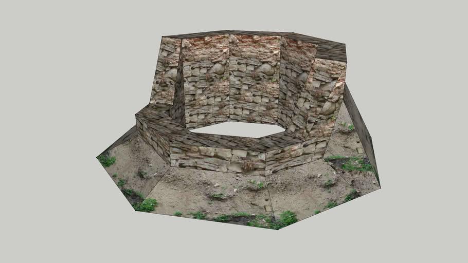 Zámek Veselí nad Moravou - Studna