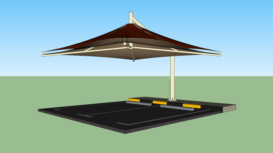 Umbrella Car Parking Shade