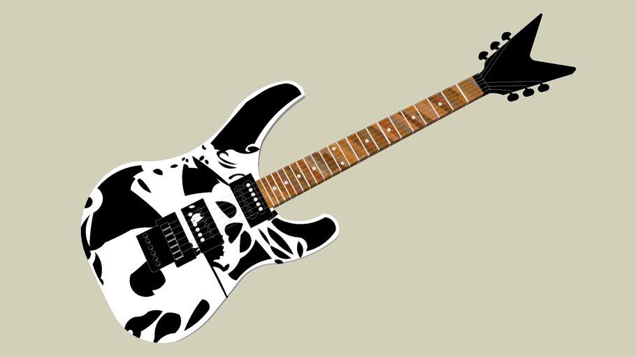 Pirate Theme Electric Guitar.. Arrrrg!!!!