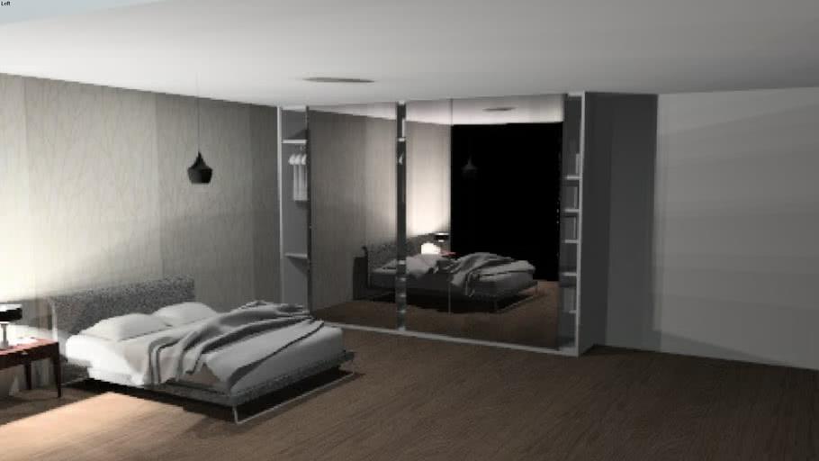 Bedroom Design- Sliding Wardrobes