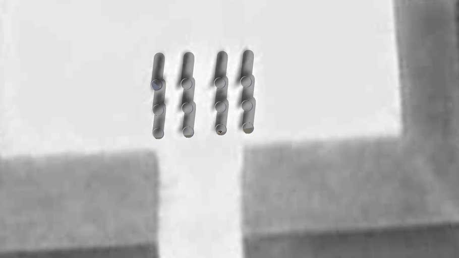 The 12 columns of Cergy