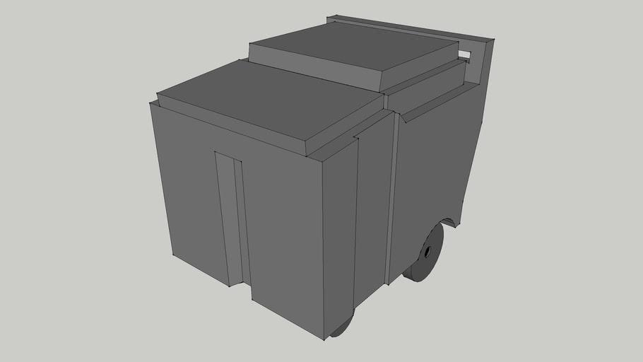 Cambro Ice Cart